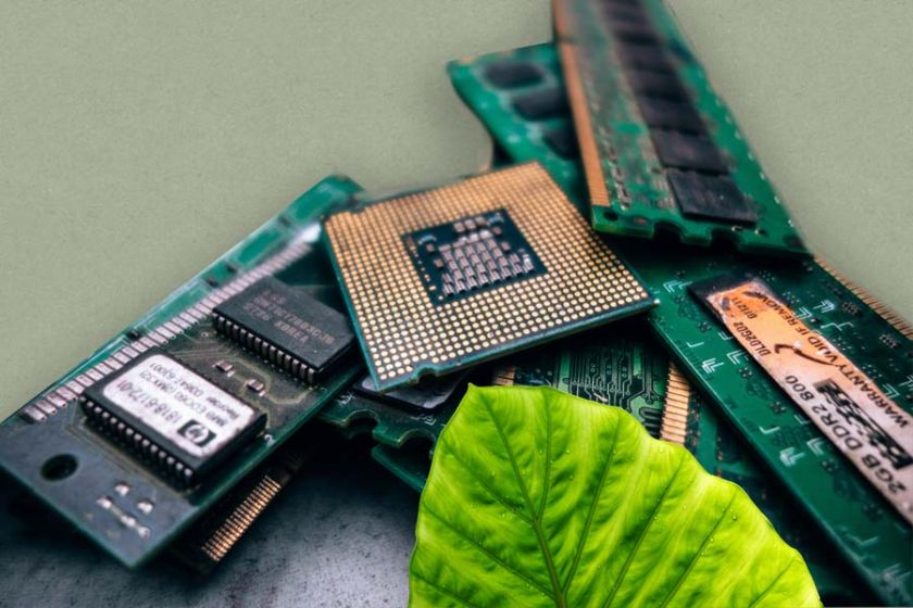 Electronic Scrap , Sustainable Waste Management
