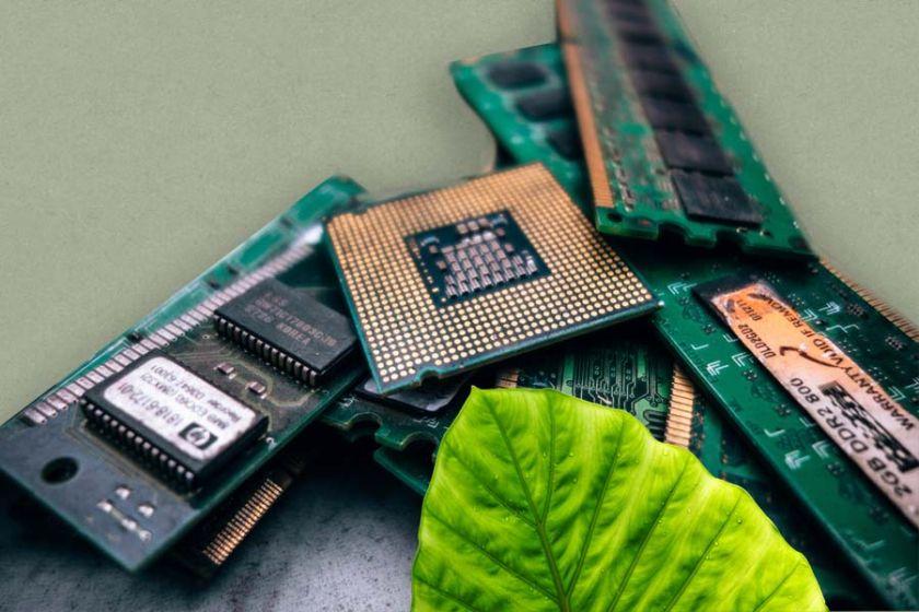 Elektronikschrott, Nachhaltige Abfallwirtschaft